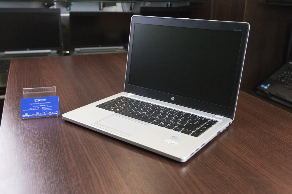 HP Folio 9470m - otwarty