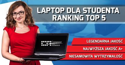 Laptop dla studenta - 5 propozycji ekspertów z Computer Alliance