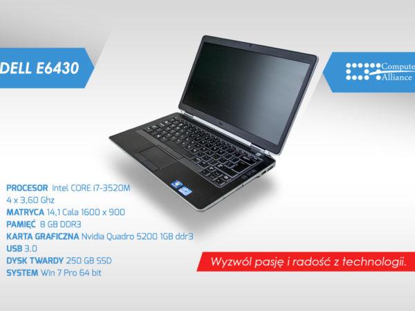 Dell e6430 i7-3520