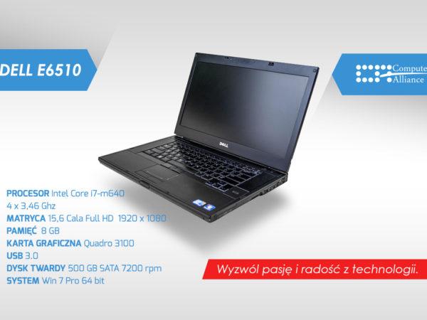 Dell e6510 i7-m640