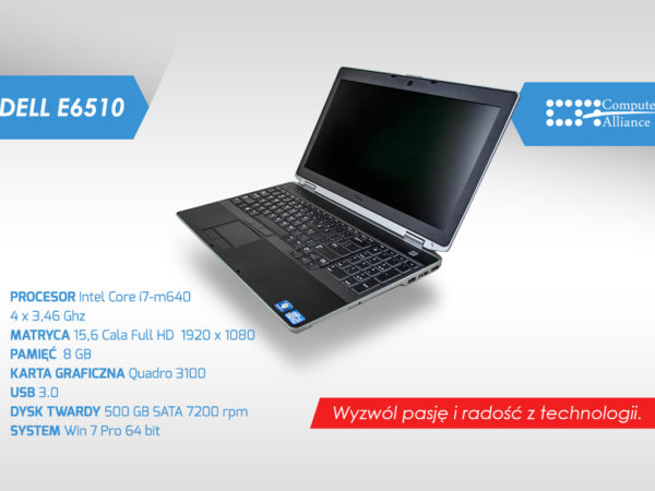 Dell e6520 i7-2640M