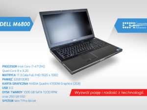 Dell m6800 i7-4712HQ