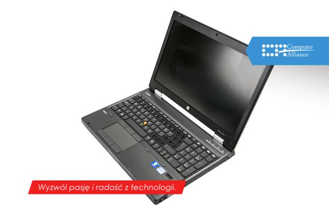 laptop do gier - HP8570w