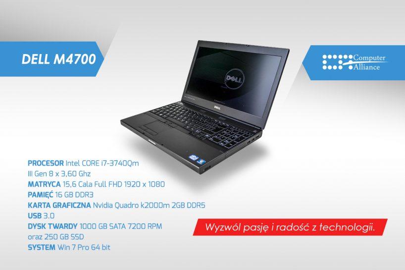 Dell Precision M4700 - konfiguracja