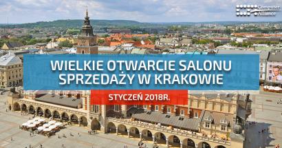 Laptopy poleasingowe Kraków – wielkie otwarcie Computer Alliance w Krakowie