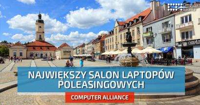 Laptopy poleasingowe Białystok