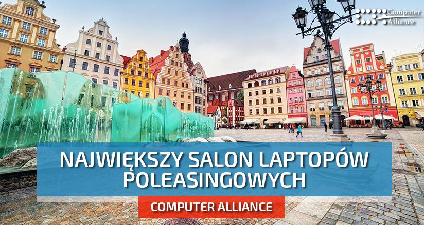 Laptopy poleasingowe Wrocław