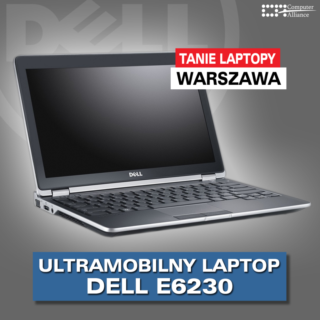 tanie laptopy dell