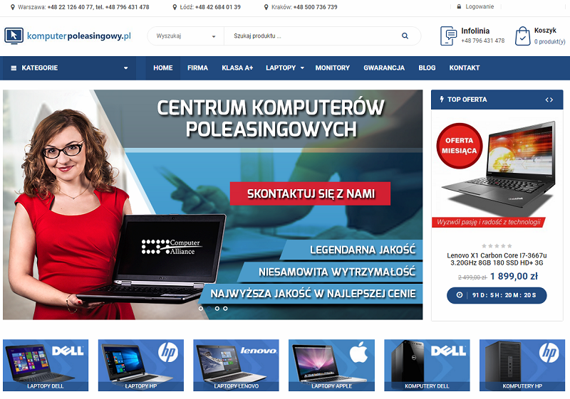 Laptop na Komunię