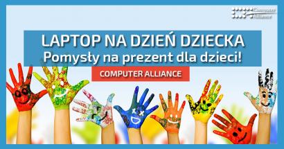 Laptop na dzień dziecka