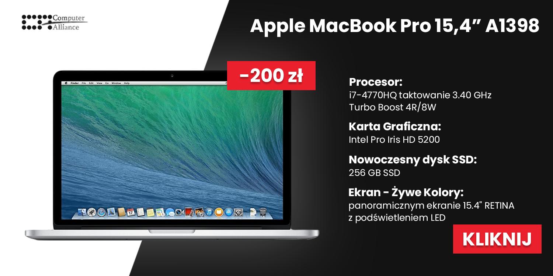 Apple MacBook Pro 15,4″ A1398